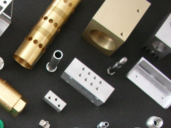 Selection of Manufactured Components