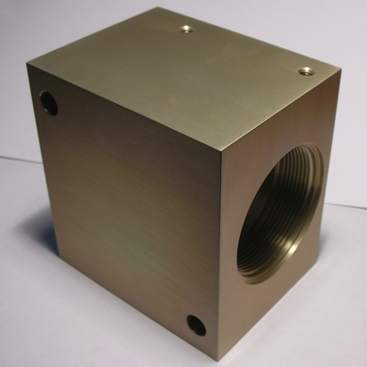CNC Milling Produced Components